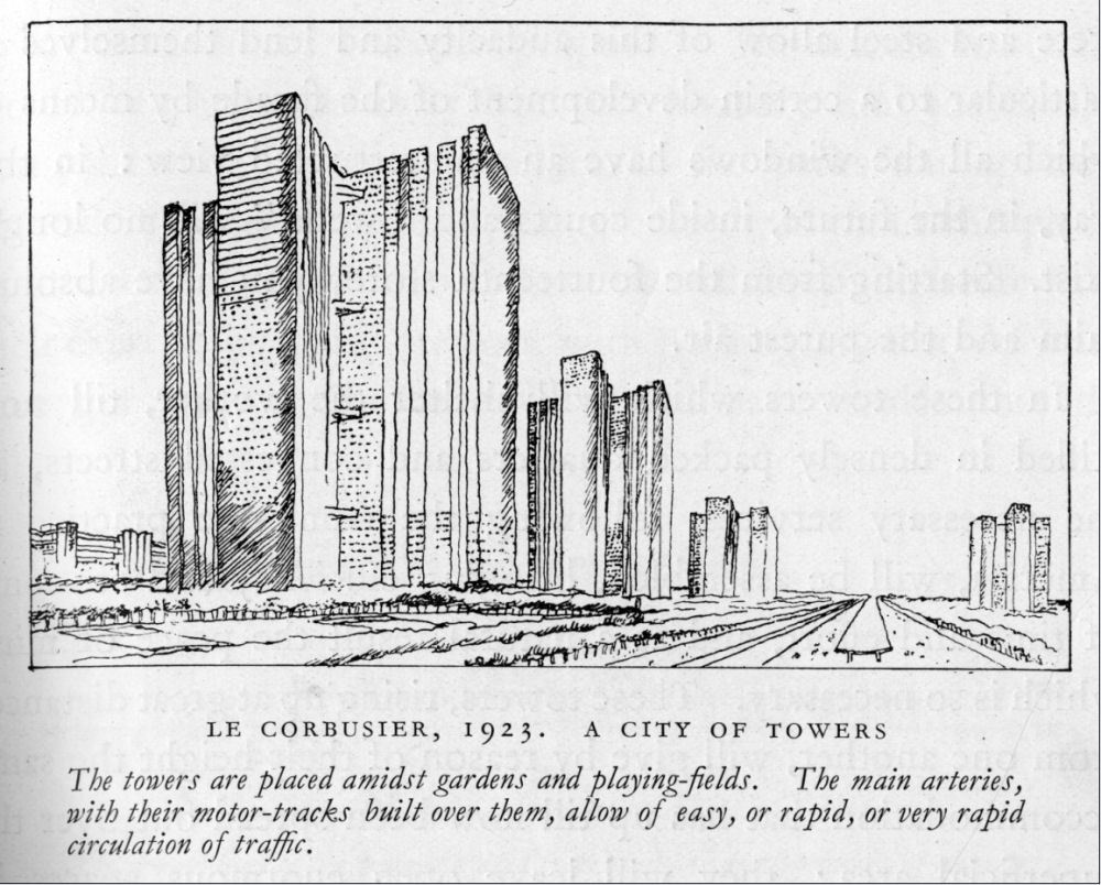 Le Corbusier A City of Towers