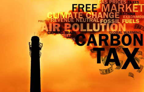 A global Carbon Tax could make climate change treaties enforceable!