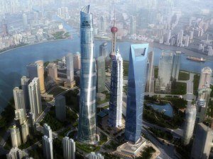 Pudong New Area is a monumental city that could have been a walkable eco-city - and monumental.