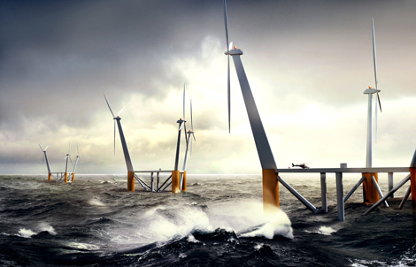 Carbon Taxes could help make offshore wind power competitive